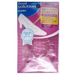 足うらサポート 女性用 コロンブス COLUMBUS レディース 靴 中敷き インソール フットソリューション 80260|washington