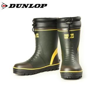 DUNLOP ダンロップ ドルマン G299 BG299 ショート丈 防寒 メンズ スノーブーツ 長靴 オリーブ 299|washington