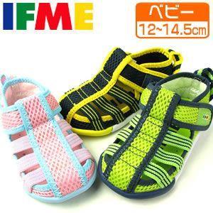 IFME イフミー 22-1004 サンダル 子供靴 ベビーシューズ|washington
