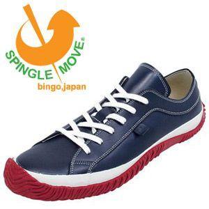 スピングルムーブ SPINGLE MOVE SPM-101 Navy/Red レディース メンズ スニーカー|Parade ワシントン靴店