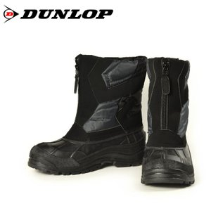 DUNLOP ダンロップ ドルマン G303 BG303 ファスナー付き メンズ ボアブーツ ブラック 303|washington