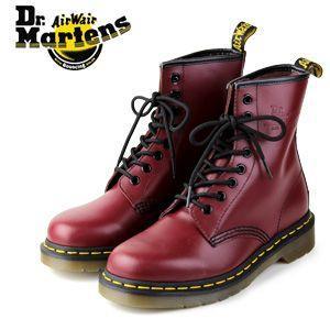 ドクターマーチン Dr.Martens 1460 8EYE BOOT CHERRY RED SMOOTH 10072600 8ホール レディース メンズ|washington