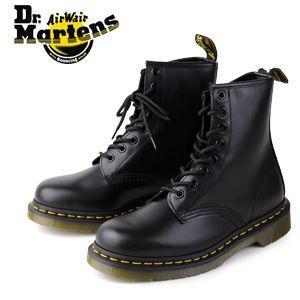 ドクターマーチン Dr.Martens 1460 8EYE BOOT BLACK SMOOTH 10072004 8ホール レディース メンズ|washington