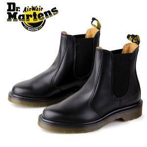 ドクターマーチン Dr.Martens 2976 CHELSEA BOOT BLACK SMOOTH 10297001 サイドゴア レディース メンズ|washington