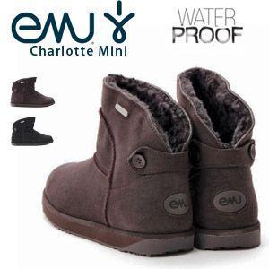 emu (エミュ/エミュー) CHARLOTTE MINI W10968 シャーロットミニ 2014年モデル ムートンブーツ 防水 レディース|washington