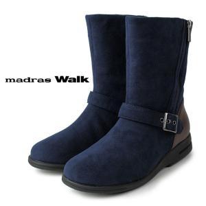 madras Walk マドラスウォーク MWL2052A NAV/C ネイビー レディース ブーツ ゴアテックス 4E 防水 防滑 セール|washington
