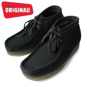 Clarks クラークス 751 Wallabee Boot ワラビーブーツ ブーツ ブラック|washington