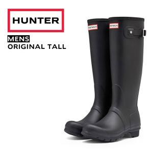 HUNTER ハンター メンズ オリジナル トール MENS ORIGINAL TALL 9000 MFT9000RMA ブラック BLACK|Parade ワシントン靴店
