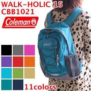 Coleman コールマン WALK-HOLIC 15 ウォークホリック15 CBB1021 リュック バッグ|washington