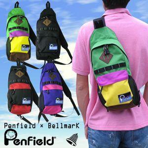 Penfield × Bellmark フロンティア ボディバッグ 10259234 全4色 バッグ|washington