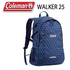 コールマン Coleman WALKER 25 CBB4501ND ネイビードット リュック バッグ デイバッグ|washington