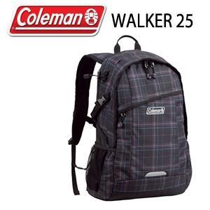 コールマン Coleman WALKER 25 CBB4501BCK ブラックチェック リュック バッグ デイバッグ|washington