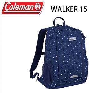 コールマン Coleman WALKER 15 26000021378 ネイビードット リュック バッグ デイバッグ|washington