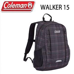 コールマン Coleman WALKER 15 2000021381 ブラックチェック リュック バッグ デイバッグ|washington