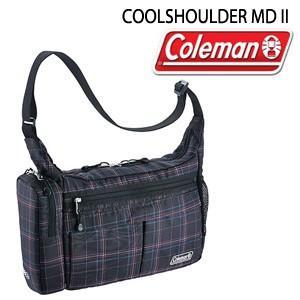 コールマン Coleman COOL SHOULDER MD2 2000021409 ブラックチェック ショルダーバッグ バッグ|washington