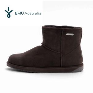EMU Australia エミュー パターソン ミニ Paterson Mini W10946 ムートンブーツ 防水加工 レディース チョコレート Chocolate セール|washington