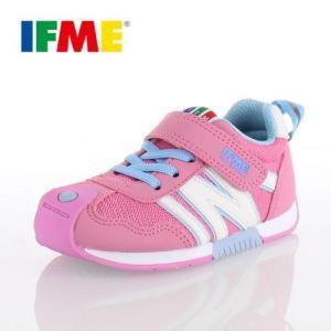 IFME KIDS イフミー キッズ シューズ 30-5710 ピンク スニーカー 通園 通学 washington