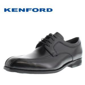 ケンフォード ビジネスシューズ KENFORD KN22ADEB ブラック メンズ スワールトゥ 外羽根式 4E 紳士靴 本革 日本製|washington