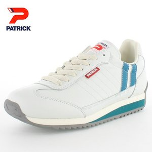 PATRICK パトリック MARATHON-L WTQ マラソン ホワイトターコイズ WTWQ-98160 メンズ レディース スニーカー 日本製 ホワイト レザー