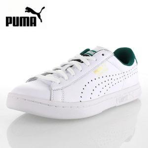 PUMA プーマ COURT STAR CRFTD コートスターCRFTD 359977-03 59977-WG68  メンズ レディース スニーカー 天然皮革 ホワイトグリーン セール|washington