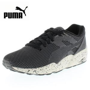 PUMA プーマ R698 KNIT MESH V2 FLTRD  R698 ニット メッシュ V2 FLTRD 361659-01 61659-BK/01 メンズ レディース スニーカー ブラック セール|washington