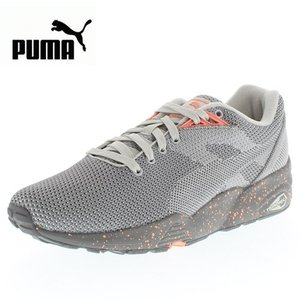 PUMA プーマ R698 KNIT MESH V2 FLTRD  R698 ニット メッシュ V2 FLTRD 361659-02 61659-GY/09 メンズ レディース スニーカー グレー セール|washington