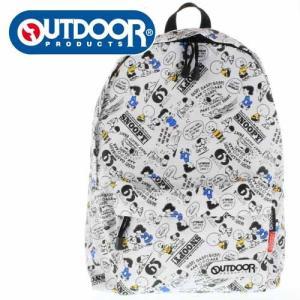 OUTDOOR PRODUCTS アウトドアプロダクツ SY704WH-6 スヌーピー コラボ リュック デイバッグ バッグ ピーナッツ|washington