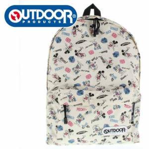 OUTDOOR PRODUCTS アウトドアプロダクツ ODDN1203BE-1 ミッキー&ドナルド コラボ リュック デイバッグ バッグ ディズニー|washington