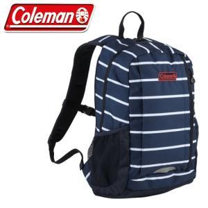 コールマン Coleman WALKER 15 2000027049 ネイビーボーダー リュック バッグ デイバッグ|washington