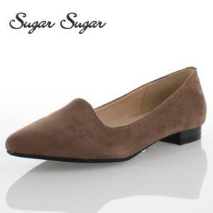 Sugar Sugar シュガーシュガー 3815-OK パンプス ポインテッドトゥ シンプル ローヒール 履きやすい オーク washington