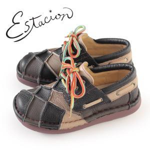 エスタシオン 靴 estacion TG154 (BL/MT) 本革 厚底 カジュアルシューズ コンフォートシューズ レディース 紐靴|washington