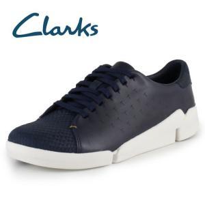 Clarks クラークス Tri Abby トライアビー Navy Leather 913 ネイビー 本革 カジュアルシューズ レディース セール|washington