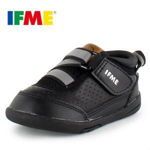 IFME BABY イフミー ベビー シューズ 22-6700 BLACK ブラック スニーカー|washington