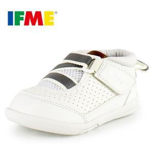 IFME BABY イフミー ベビー シューズ 22-6700 WHITE ホワイト スニーカー|washington