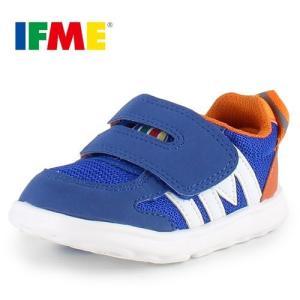 IFME BABY イフミー ベビー シューズ 22-6708 BLUE ブルー スニーカー セール|washington