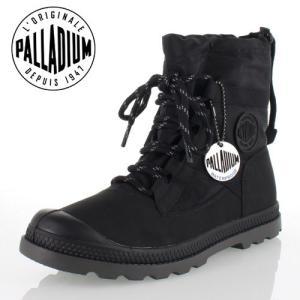 パラディウム PALLADIUM Pampa Hi Blitz LP 95169-008-M BLACK レインシューズ スニーカー  レディース ウォータープルーフ セール|washington