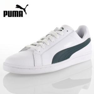 PUMA プーマ PUMA SMASH L プーマスマッシュ L 356722-19 68-56722 メンズ レディース スニーカー ホワイト/グリーン セール|washington