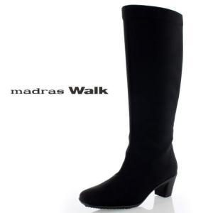 madras Walk マドラスウォーク MWL2083 靴 GORE-TEX ゴアテックス 防水 ミディアムブーツ 3E ブラック レディース セール|washington