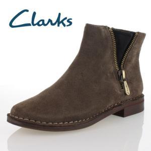 clarks クラークス 靴 933 Cabaret Ruby キャバレールビー ショートブーツ カーキ スエード レディース セール|washington