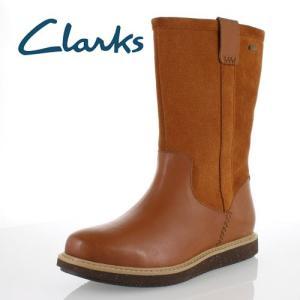 clarks クラークス 靴 935 GlickField GTX グリックフィールド ゴアテックス 完全防水 ショートブーツ タン コンビ ブラウン スエード レディース