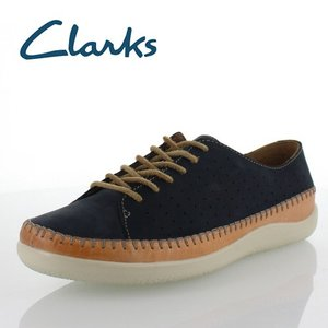 Clarks クラークス メンズ Veho Edge ビオエッジ 720E Navy  カジュアルシューズ 正規品 セール|washington