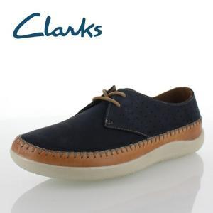 Clarks クラークス メンズ Veho Flow ビオフロウ 721E Navy  カジュアルシューズ 正規品 セール|washington