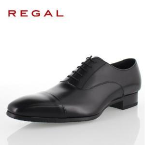 リーガル REGAL 靴 メンズ ビジネスシューズ 10LR BD ブラック ストレートチップ 内羽...