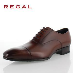 リーガル REGAL 靴 メンズ ビジネスシューズ 10LR BD ブラウン ストレートチップ 内羽...