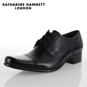 KATHARINE HAMNETT LONDON キャサリンハムネット 31441 メンズ ビジネスシューズ ブラック|washington