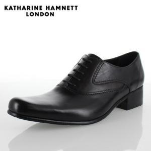 KATHARINE HAMNETT LONDON キャサリンハムネット 31442 メンズ ビジネスシューズ ブラック|washington