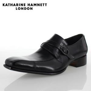 KATHARINE HAMNETT LONDON キャサリンハムネット 31501 メンズ ビジネスシューズ ブラック|washington