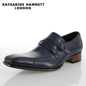 KATHARINE HAMNETT LONDON キャサリンハムネット 31501 メンズ ビジネスシューズ ネイビー|washington