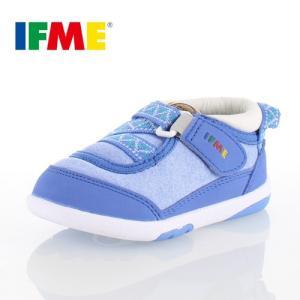 IFME BABY イフミー ベビー シューズ 22-7000 ブルー スニーカー セール washington