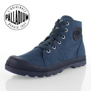パラディウム パンパ ミッド ロープロファイル PALLADIUM PAMPA D3 MID WP 95420-474-M INDIGO レディース スニーカー ネイビー 靴|washington